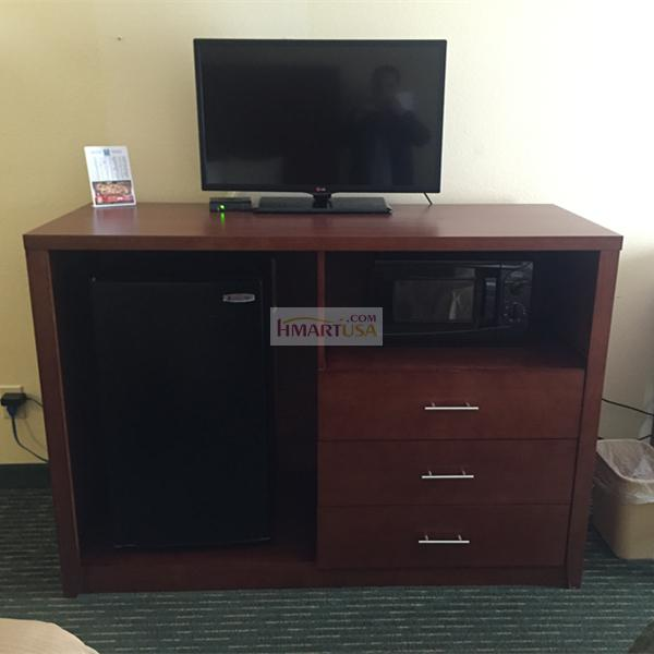 hotel furniture TV chest combo cabinet